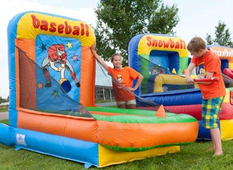 Kinderspelen Honkbal spel